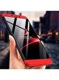 Microsonic Xiaomi Redmi 6 Kılıf Double Dip 360 Protective  Lacivert